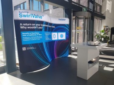 Twister Launches SwirlValve at GPA Europe – Shell Technology Centre Amsterdam